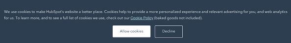 """Un banner che richiede agli utenti l'autorizzazione all'uso dei cookie. """"Width ="""" 600 """"style ="""" width: 600px; blocco di visualizzazione; margine: 0px auto; """"srcset ="""" https://blog.hubspot.com/hs-fs/hubfs/The%20Death%20of%20the%20Third%20Party%20Cookie%20What%20Marketers%20Need%20to%20Know.png ? width = 300 & name = The% 20Death% 20of% 20the% 20Third% 20Party% 20Cookie% 20What% 20Marketers% 20Need% 20to% 20Know.png 300w, https://blog.hubspot.com/hs-fs/hubfs/The% 20Death% 20del% 20the% 20Third% 20Party% 20Cookie% 20What% 20Marketers% 20Need% 20to% 20Know.png? width = 600 & name = Il% 20Death% 20del% 20the% 20Third% 20Party% 20Cookie% 20What% 20Marketers% 20Need% 20to% 20Know.png 600w, https://blog.hubspot.com/hs-fs/hubfs/The%20Death%20of%20the%20Third%20Party%20Cookie%20What%20Marketers%20Need%20to%20Know.png?width=900&name = The% 20Death% 20of% 20the% 20Third% 20Party% 20Cookie% 20What% 20Marketers% 20Need% 20to% 20Know.png 900w, https://blog.hubspot.com/hs-fs/hubfs/The%20Death%20of% 20the% 20Tird% 20Party% 20Cookie% 20What% 20Marketers% 20Need% 20to% 20Know.png? Larghezza = 1200 & name = The% 20Death% 20of% 20the% 20Tird% 20Party% 20Cookie% 20What% 20Marketers% 20Need% 20to% 20Wnow. , https: //blog.hubspo t.com/hs-fs/hubfs/The%20Death%20of%20the%20Third%20Party%20Cookie%20What%20Marketers%20Need%20to%20Know.png?width=1500&name=The%20Death%20of%20the%20Third% 20Party% 20Cookie% 20What% 20Marketers% 20Need% 20to% 20Know.png 1500w, https://blog.hubspot.com/hs-fs/hubfs/The%20Death%20of%20the%20Third%20Party%20Cookie%20What%20Marketers % 20Necessità% 20to% 20Know.png? Larghezza = 1800 & nome = The% 20Death% 20of% 20the% 20Third% 20Party% 20Cookie% 20Che% 20Marketers% 20Need% 20to% 20Know.png 1800w """"size ="""" (larghezza massima: 600px) 100vw, 600px"""