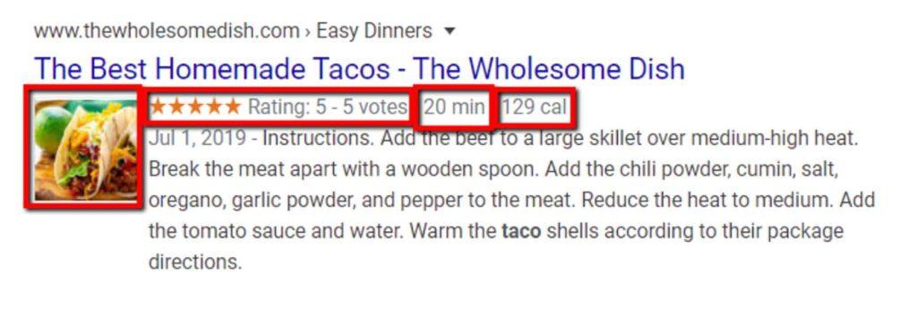 Risultati della ricerca per il miglior piatto di taco fatto in casa con una foto di tacos