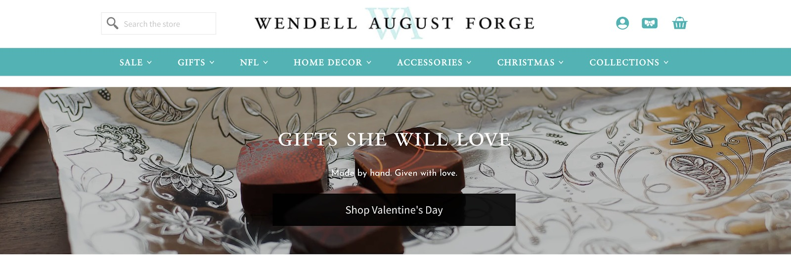 Wendell August Forge VDay Giftguide