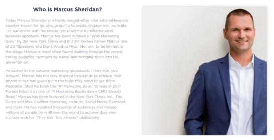Marcus Sheridan