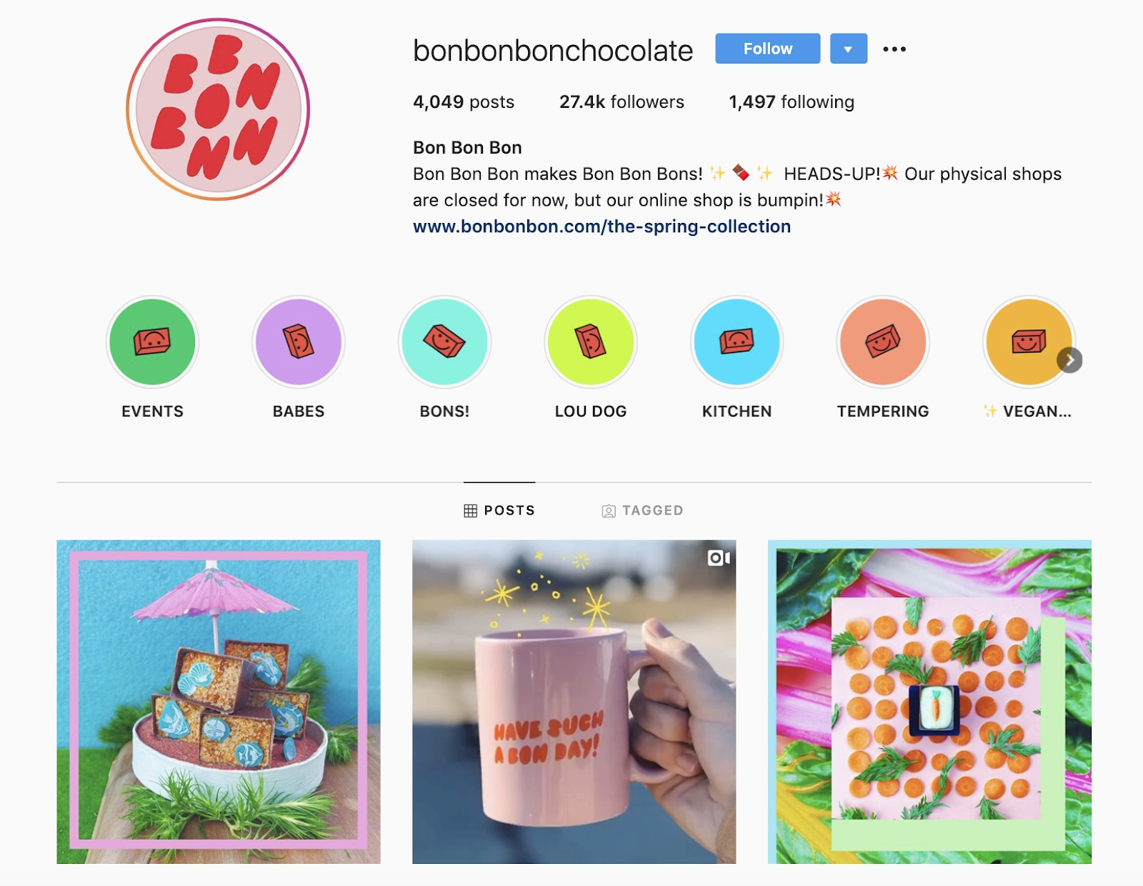BonBonBon Instagram