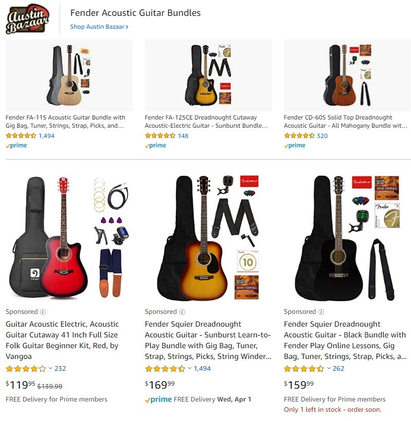 "chitarre acustiche di annunci sponsorizzati da Amazon ""larghezza ="" 800 ""style ="" larghezza: 800px; ""srcset ="" https://blog.hubspot.com/hs-fs/hubfs/amazon-sponsored-acoustic-guitars.jpg?width= 400 & name = amazon-sponsorizzato-acoustic-guitars.jpg 400w, https://blog.hubspot.com/hs-fs/hubfs/amazon-sponsored-acoustic-guitars.jpg?width=800&name=amazon-sponsored-acoustic-guitars .jpg 800w, https://blog.hubspot.com/hs-fs/hubfs/amazon-sponsored-acoustic-guitars.jpg?width=1200&name=amazon-sponsored-acoustic-guitars.jpg 1200w, https: // blog .hubspot.com / hs-fs / hubfs / amazon-sponsored-acoustic-guitars.jpg? larghezza = 1600 & nome = amazon-sponsorizzato-acoustic-guitars.jpg 1600w, https://blog.hubspot.com/hs-fs/ hubfs / amazon-sponsorizzato-acustico-guitars.jpg? larghezza = 2000 e nome = amazon-sponsorizzato-acustico-guitars.jpg 2000w, https://blog.hubspot.com/hs-fs/hubfs/amazon-sponsored-acoustic-guitars .jpg? larghezza = 2400 e nome = amazon-sponsorizzato-acoustic-guitars.jpg 2400w ""dimensioni ="" (larghezza massima: 800px) 100vw, 800px"