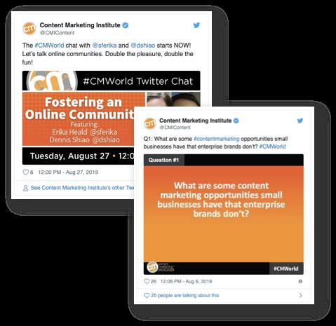 Esempio di marketing di contenuti B2B