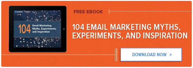 104 miti, esperimenti e ispirazione per l'email marketing