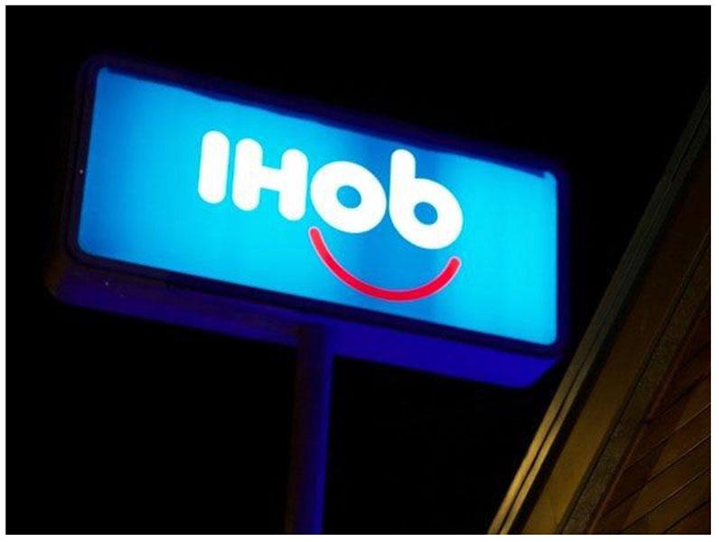 Il logo iHop è stato cambiato in iHob