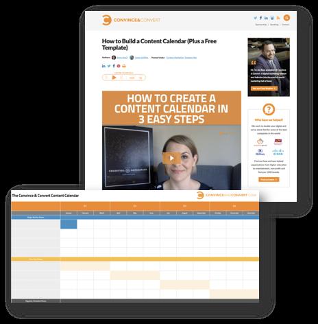Esempio di marketing dei contenuti B2B dal nostro blog
