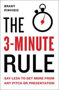 La regola dei 3 minuti: dì meno per ottenere di più da qualsiasi presentazione o presentazione