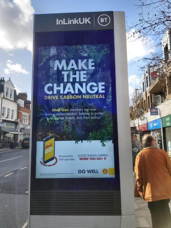 Annuncio di Shell Drive a emissioni zero