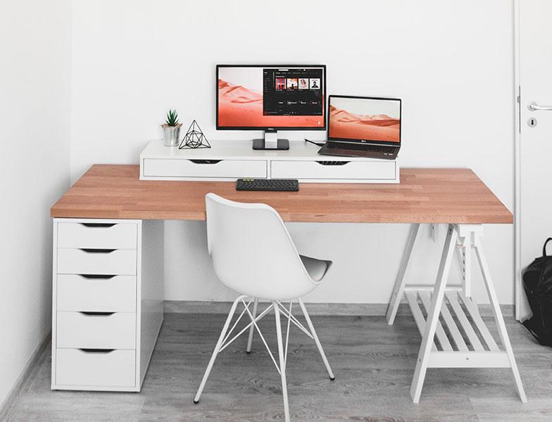 Imposta il tuo spazio di lavoro designato