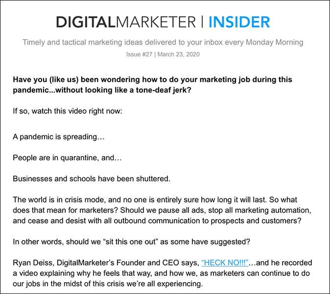 DigitalMarketer Insider