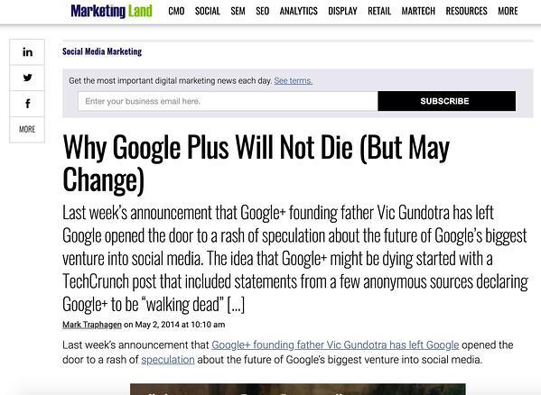 "Articolo di MarketingLand su Google+. ""Width ="" 600 ""style ="" larghezza: 600px; blocco di visualizzazione; margine: 0px auto; ""srcset ="" https://blog.hubspot.com/hs-fs/hubfs/4%20Predictions%20Marketing%20Experts%20Got%20Wrong%20About%20Social%20Media%20in%202020-2.jpeg ? width = 300 & name = 4% 20Predictions% 20Marketing% 20Experts% 20Got% 20Wrong% 20Informazioni% 20Social% 20Media% 20in% 202020-2.jpeg 300w, https://blog.hubspot.com/hs-fs/hubfs/4% 20Predictions% 20Marketing% 20Experts% 20Got% 20Wrong% 20About% 20Social% 20Media% 20in% 202020-2.jpeg? width = 600 & name = 4% 20Predictions% 20Marketing% 20Experts% 20Got% 20Wrong% 20About% 20Social% 20Media% 20in% 202020- 2.jpeg 600w, https://blog.hubspot.com/hs-fs/hubfs/4%20Predictions%20Marketing%20Experts%20Got%20Wrong%20About%20Social%20Media%20in%202020-2.jpeg?width=900&name = 4% 20Predictions% 20Marketing% 20Experts% 20Got% 20Wrong% 20Informazioni su% 20Social% 20Media% 20in% 202020-2.jpeg 900w, https://blog.hubspot.com/hs-fs/hubfs/4%20Predictions%20Marketing% 20Experts% 20Got% 20Wrong% 20About% 20Social% 20Media% 20in% 202020-2.jpeg? width = 1200 & name = 4% 20Predictions% 20Marketing% 20Experts% 20Got% 20Wrong% 20About% 20Social% 20Med ia% 20in% 202020-2.jpeg 1200w, https://blog.hubspot.com/hs-fs/hubfs/4%20Predictions%20Marketing%20Experts%20Got%20Wrong%20About%20Social%20Media%20in%202020-2 .jpeg? width = 1500 & name = 4% 20Predictions% 20Marketing% 20Experts% 20Got% 20Wrong% 20About% 20Social% 20Media% 20in% 202020-2.jpeg 1500w, https://blog.hubspot.com/hs-fs/hubfs/ 4% 20Predictions% 20Marketing% 20Experts% 20Got% 20Wrong% 20About% 20Social% 20Media% 20in% 202020-2.jpeg? width = 1800 & name = 4% 20Predictions% 20Marketing% 20Experts% 20Got% 20Wrong% 20About% 20Social% 20Media% 20in% 202020-2.jpeg 1800w ""dimensioni ="" (larghezza massima: 600px) 100vw, 600px"