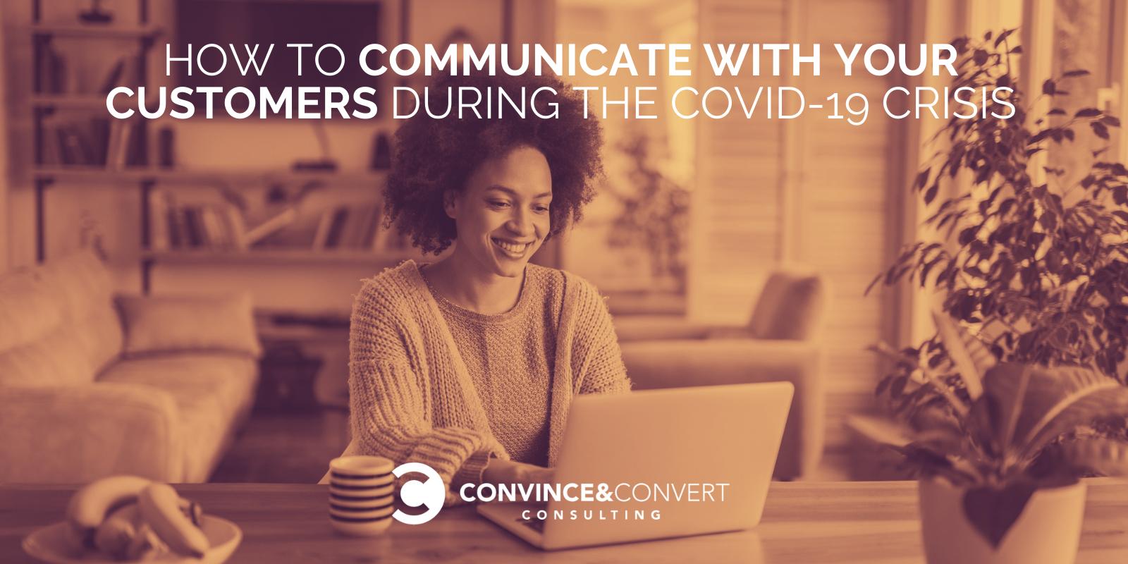 Come comunicare con i clienti durante la crisi COVID-19