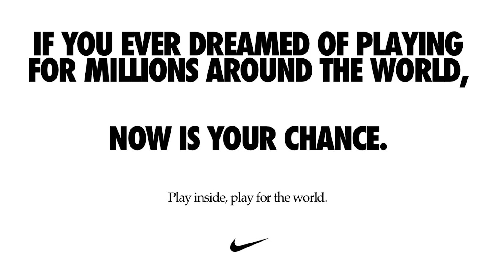 Nike Play Inside