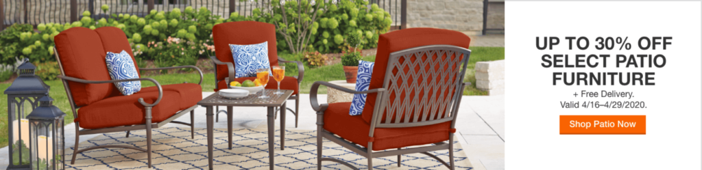 mobili da giardino.
