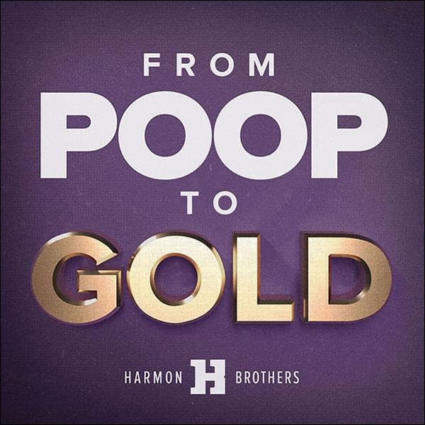 immagine della cacca al podcast d'oro