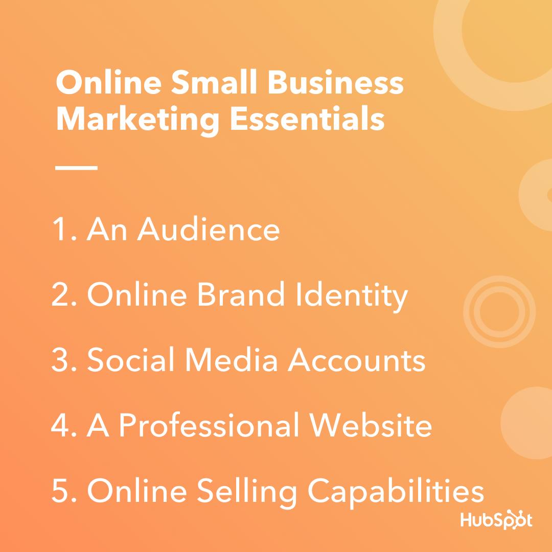 Elementi essenziali di marketing per le piccole imprese online