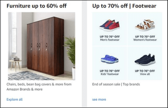 "Homepage di Amazon India ""larghezza ="" 550 ""height ="" 354 ""srcset ="" https://megamarketing.it/wp-content/uploads/2020/04/_898_7-modi-per-raggiungere-e-influenzare-i-millennial-usando-il-social-media-marketing.png 550w, https: //www.smartinsights.com/wp-content/uploads/2019/12/Amazon-India-homepage-700x451.png 700w, https://www.smartinsights.com/wp-content/uploads/2019/12/Amazon -India-homepage-150x97.png 150w, https://www.smartinsights.com/wp-content/uploads/2019/12/Amazon-India-homepage-768x494.png 768w, https://www.smartinsights.com /wp-content/uploads/2019/12/Amazon-India-homepage-250x161.png 250w, https://www.smartinsights.com/wp-content/uploads/2019/12/Amazon-India-homepage.png 918w ""size ="" (larghezza massima: 550px) 100vw, 550px"