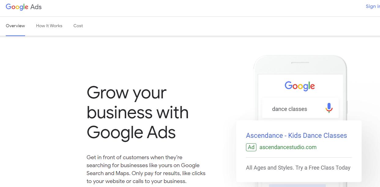 Piattaforme pubblicitarie digitali - Google