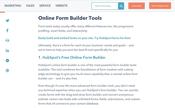 "post sul blog sugli strumenti del form builder ""width ="" 600 ""style ="" larghezza: 600px; blocco di visualizzazione; margine: 0px auto; ""srcset ="" https://blog.hubspot.com/hs-fs/hubfs/The%20Top%203%20Reasons%20Consumers%20Read%20Blogs%20in%202020%20%5BNew%20Research%5D -1.png? Width = 300 & name = The% 20Top% 203% 20Reason% 20Consumers% 20Lead% 20Blogs 20in% 202020% 20% 5BNew% 20Research% 5D-1.png 300w, https://blog.hubspot.com/ hs-fs / hubfs / Il% 20Top% 203% 20Reasons% 20Consumers% 20Read% 20Blogs% 20in% 202020% 20% 5BNew% 20Research% 5D-1.png? width = 600 & name = Il% 20Top% 203% 20Reasons% 20Consumers% 20 Leggi% 20Blog% 20in% 202020% 20% 5BNew% 20Research% 5D-1.png 600w, https://blog.hubspot.com/hs-fs/hubfs/The%20Top%203%20Reasons%20Consumers%20Read%20Blogs % 20in% 202020% 20% 5BNew% 20Research% 5D-1.png? width = 900 & name = Il% 20Top% 203% 20Reasons% 20Consumers% 20Read% 20Blogs% 20in% 202020% 20% 5BNew% 20Research% 5D-1.png 900w, https://blog.hubspot.com/hs-fs/hubfs/The%20Top%203%20Reasons%20Consumers%20Read%20Blogs%20in%202020%20%5BNew%20Research%5D-1.png?width= 1200 & name = The% 20Top% 203% 20Reason% 20Consumers% 20Lead% 20Blogs% 20in% 202020% 20% 5BNew% 20Research% 5D-1.png 1200w, htt ps:? //blog.hubspot.com/hs-fs/hubfs/The%20Top%203%20Reasons%20Consumers%20Read%20Blogs%20in%202020%20%5BNew%20Research%5D-1.png width = 1500 & name = % 20Top% 203% 20Reason% 20Consumers% 20Lead% 20Blogs 20%% 202020% 20% 5BNew% 20Research% 5D-1.png 1500w, https://blog.hubspot.com/hs-fs/hubfs/The%20Top % 203% 20Reasons% 20Consumers% 20Read% 20Blogs% 20in% 202020% 20% 5BNew% 20Research% 5D-1.png? width = 1800 & name = Il% 20Top% 203% 20Reasons% 20Consumers% 20Read% 20Blogs% 20in% 202020% 20 % 5BNew% 20Research% 5D-1.png 1800w ""dimensioni ="" (larghezza massima: 600px) 100vw, 600px"