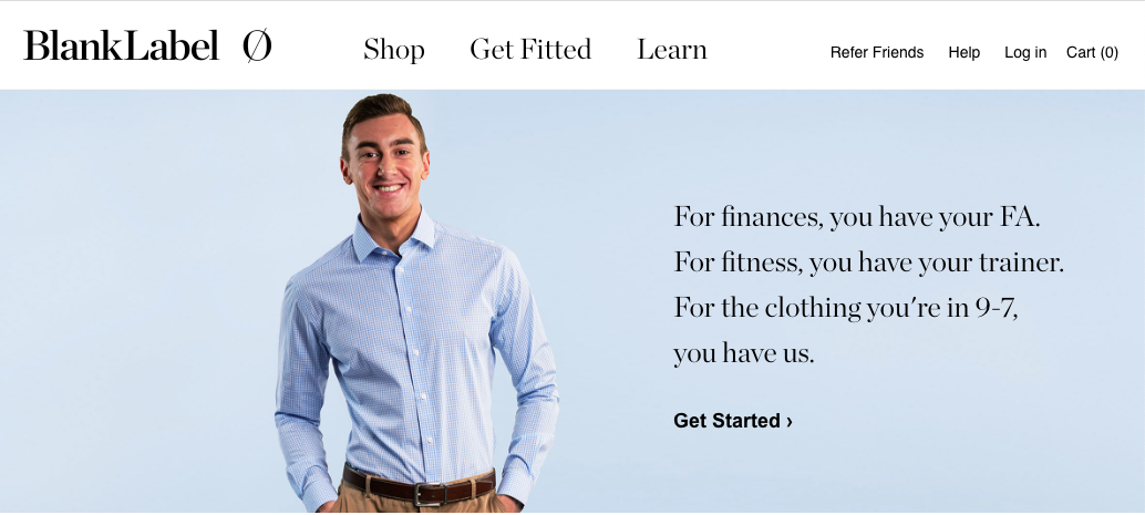 marketing di moda - esempio di annuncio