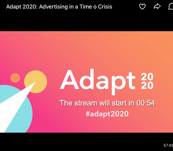 "Lo stream per la discussione pubblicitaria di Adapt 2020. ""width ="" 566 ""style ="" width: 566px; blocco di visualizzazione; margine sinistro: auto; margin-right: auto; ""srcset ="" https://blog.hubspot.com/hs-fs/hubfs/Screen%20Shot%202020-08-04%20at%2012.15.30%20AM.png?width=283&name= Schermo% 20Shot% 202020-08-04% 20at% 2012.15.30% 20 AM.png 283w, https://blog.hubspot.com/hs-fs/hubfs/Screen%20Shot%202020-08-04%20at%2012.15 .30% 20 AM.png? Width = 566 & name = Screen% 20Shot% 202020-08-04% 20at% 2012.15.30% 20 AM.png 566w, https://blog.hubspot.com/hs-fs/hubfs/Screen% 20Shot% 202020-08-04% 20at% 2012.15.30% 20 AM.png? Larghezza = 849 e nome = Schermo% 20Shot% 202020-08-04% 20at% 2012.15.30% 20 AM.png 849w, https: //blog.hubspot .com / hs-fs / hubfs / schermo% 20Shot% 202020-08-04% 20at% 2012.15.30% 20 AM.png? width = 1132 & name = schermo% 20Shot% 202020-08-04% 20at% 2012.15.30% 20AM .png 1132w, https://blog.hubspot.com/hs-fs/hubfs/Screen%20Shot%202020-08-04%20at%2012.15.30%20AM.png?width=1415&name=Screen%20Shot%202020- 08-04% 20at% 2012.15.30% 20 AM.png 1415w, https://blog.hubspot.com/hs-fs/hubfs/Screen%20Shot%202020-08-04%20at%2012.15.30%20AM.png ? width = 1698 & name = schermo% 20Shot% 202020-08-04% 20at% 2012.15.30% 20 AM.png 1698w ""size ="" (larghezza massima: 566px) 100vw, 566px"