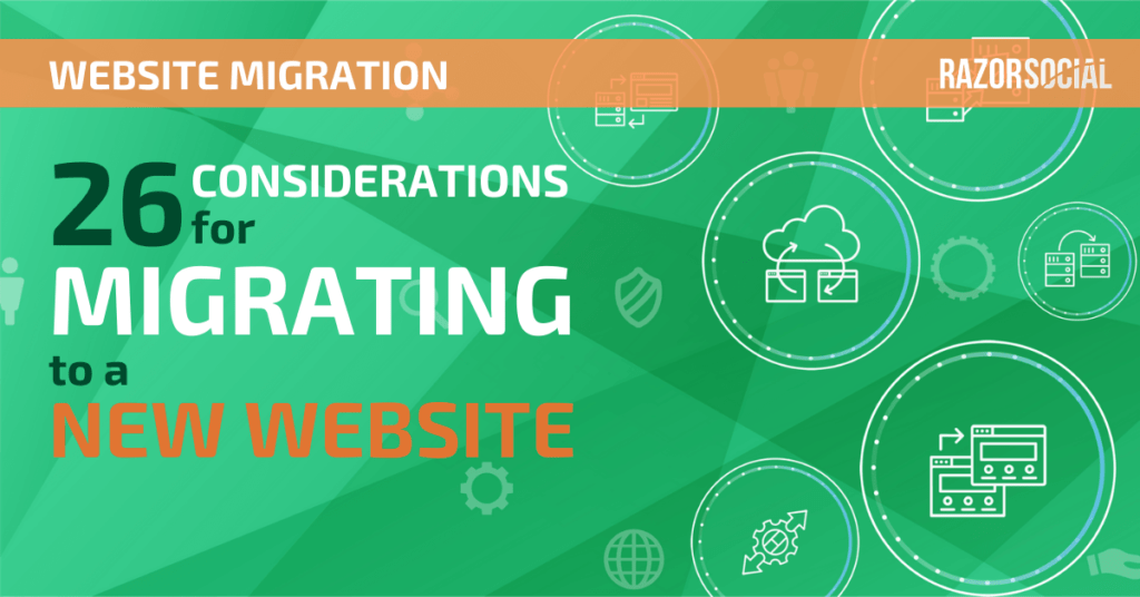 Migrazione del sito web: 26 considerazioni per la migrazione a un nuovo sito web