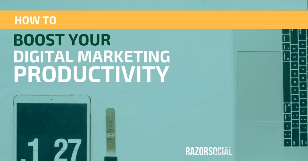 produttività del marketing