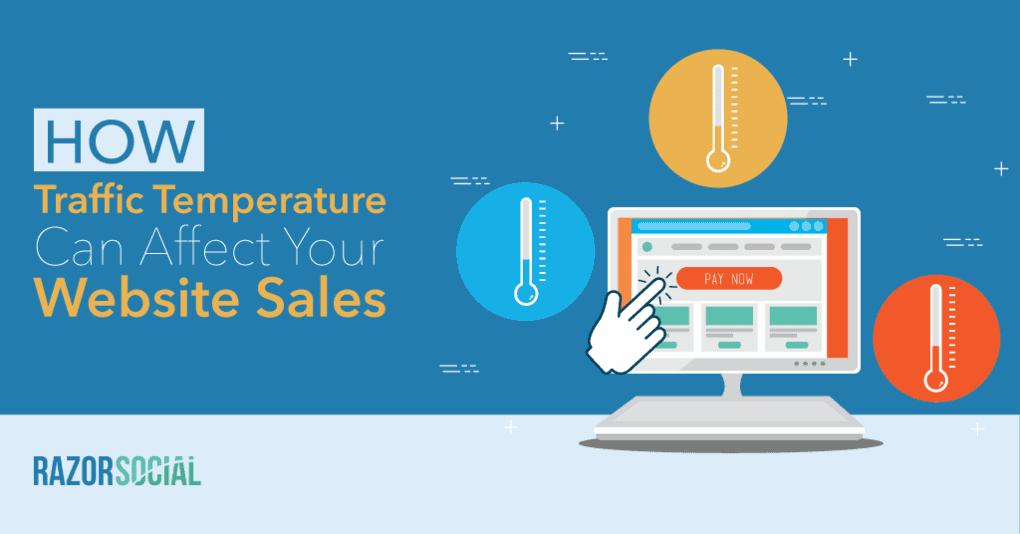 In che modo la temperatura del traffico può influire sulle vendite del tuo sito web