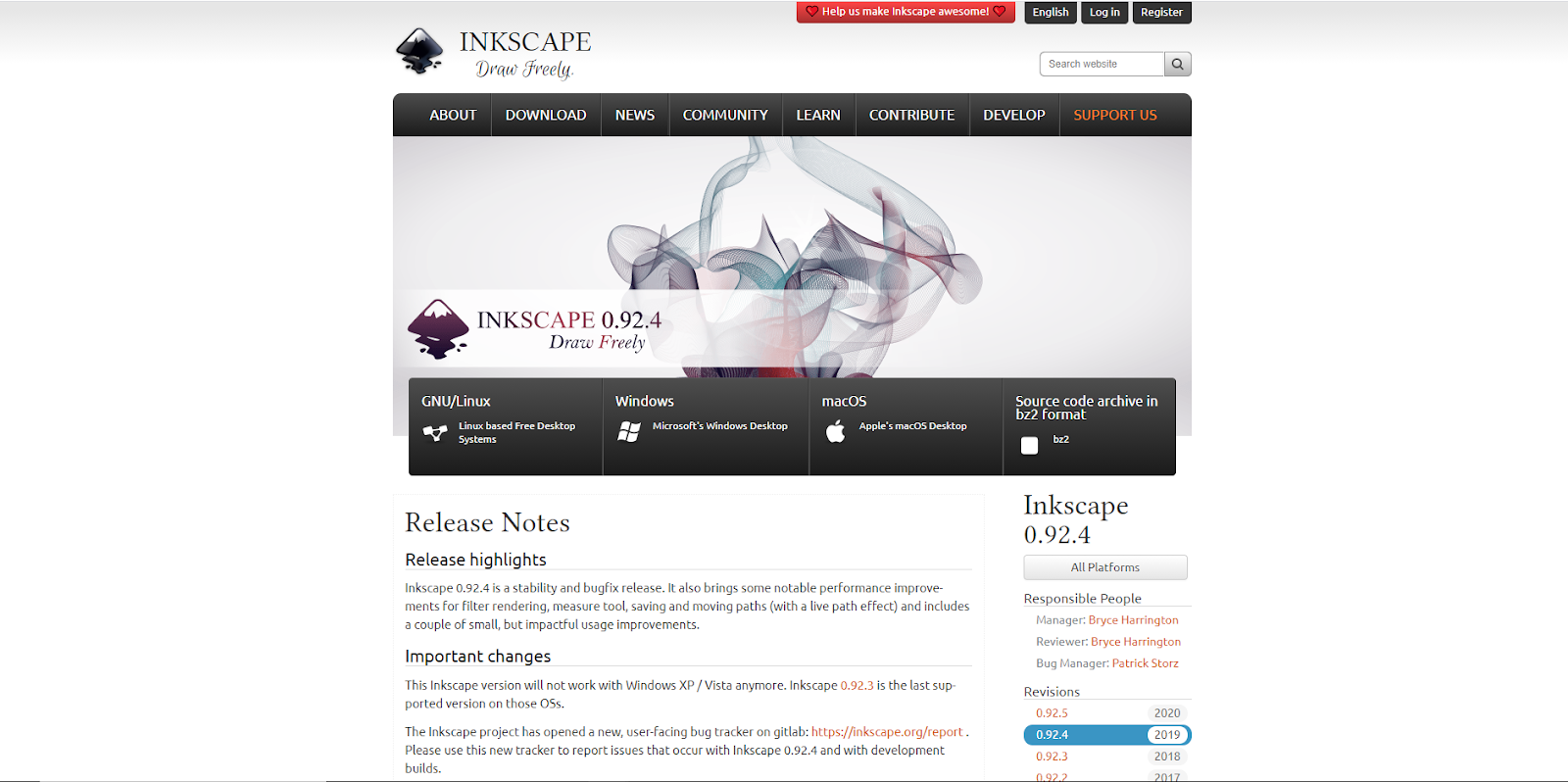 Inkscape - Gratuito - Software di progettazione grafica