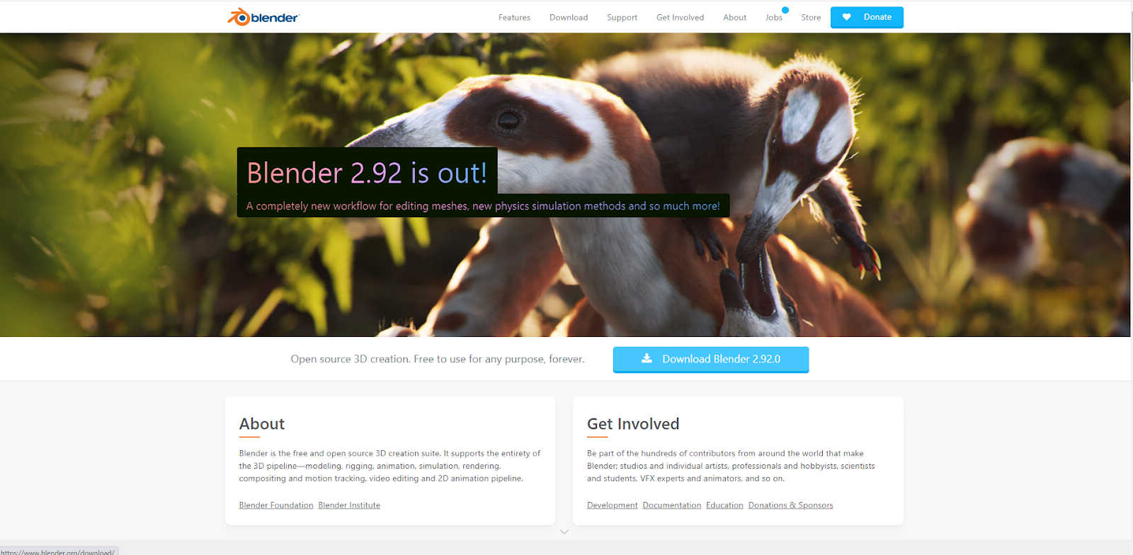 Software di progettazione grafica Blender