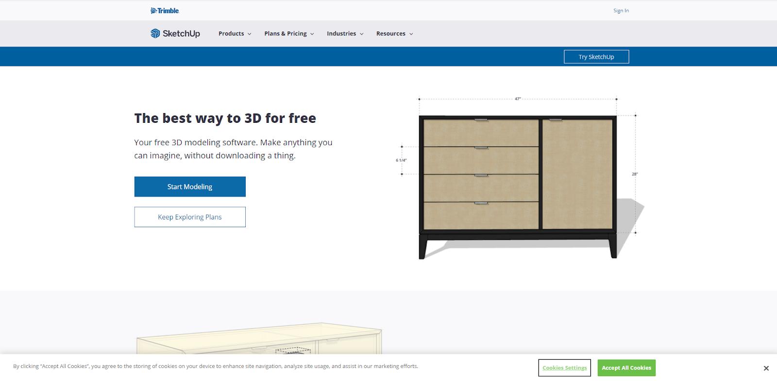 Software gratuito per la progettazione grafica di SketchUp