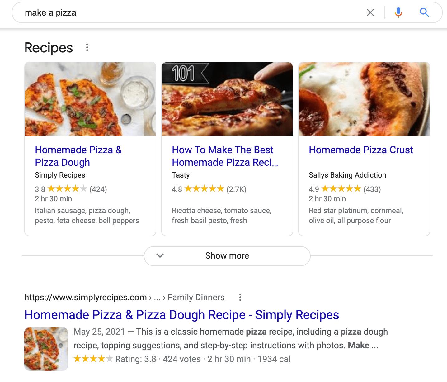 risultati della ricerca per il termine di ricerca fare una pizza