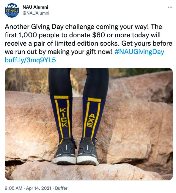 NAU Alumni Giving Day Challenge