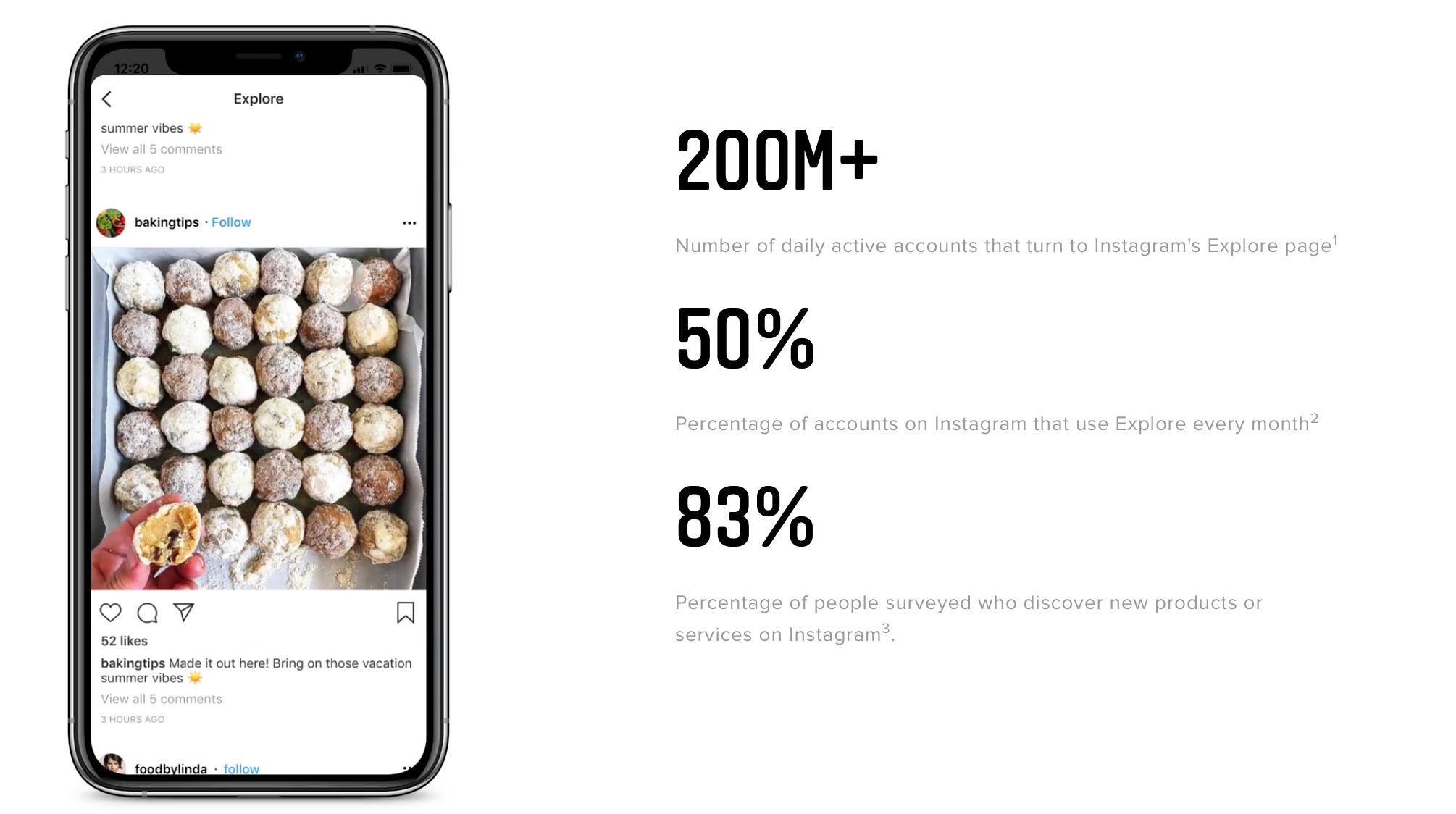 Instagram Esplora annunci