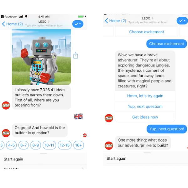 Tendenza e-commerce Lego