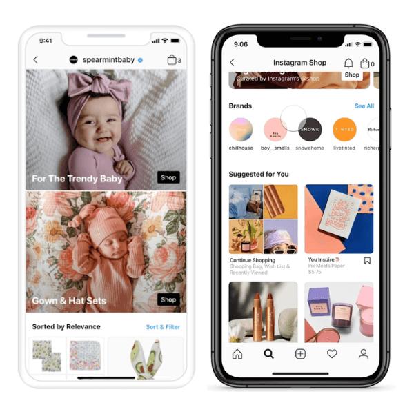 Tendenze delle facciate dei negozi di e-commerce personalizzabili