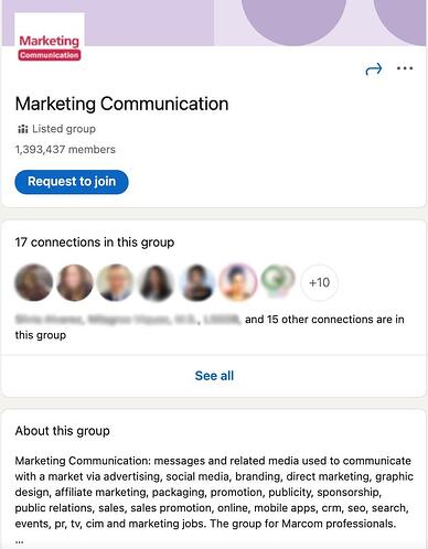 come partecipare a gruppi su linkedIn